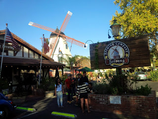 Entrance to Brewing Company in Solvang