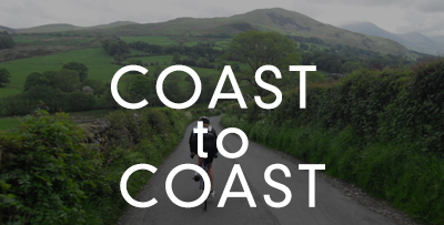RIding the coast to coast routes throughout the UK and Europe