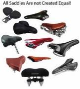 Range of different saddles
