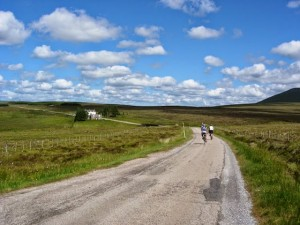 Cycling the LEJOG route